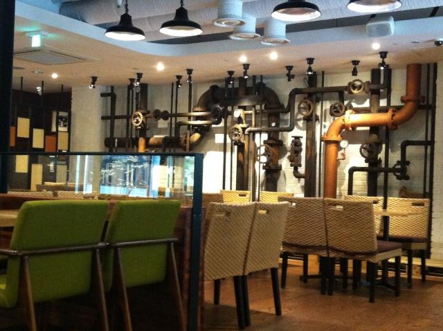 上野の喫茶店